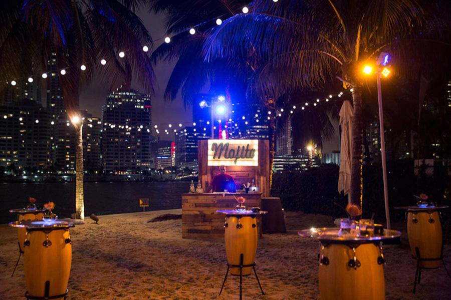 Fox Talks 2016, Miami - Beach mojito bar