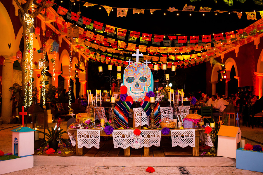 Corporate Events and Meetings - Day of the Dead sanctuary