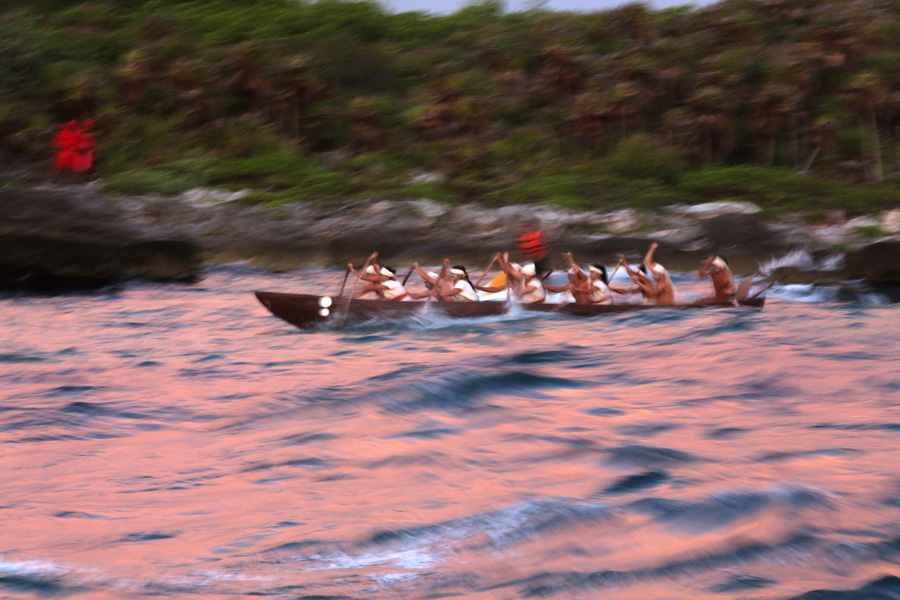 Culture and Wildlife in the Mayan Riviera - Mayan warriors sailing