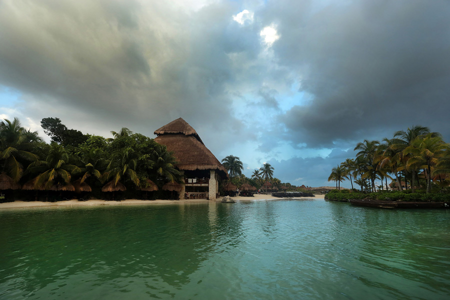 Culture and Wildlife in the Mayan Riviera - Houses in the riviera