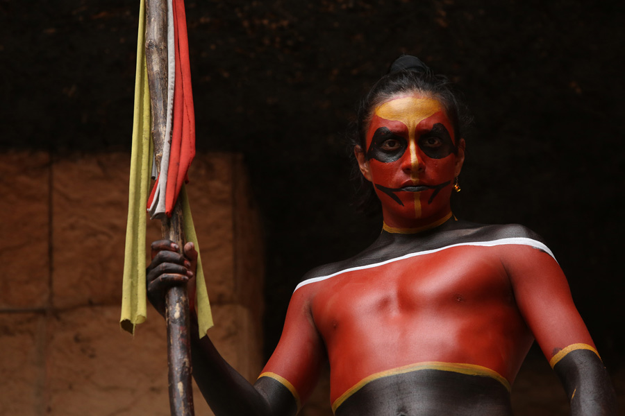 Culture and Wildlife in the Mayan Riviera - Mayan warrior
