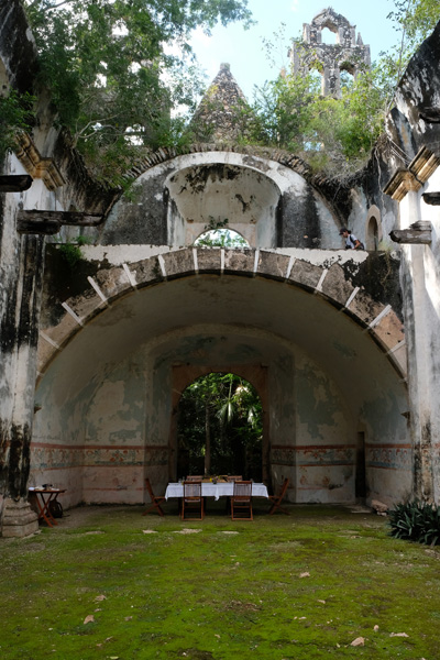 Nat Geo Expeditions Descubre Secretos Mayas - Perfect spot outside hotel