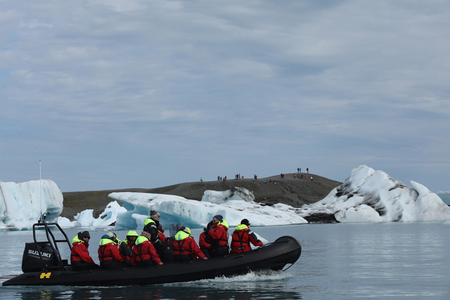 Nat Geo Expeditions - Iceland South Coast Adventure - Big boat