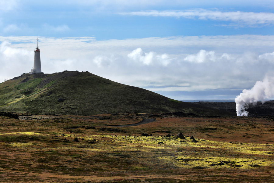 Nat Geo Expeditions - Iceland South Coast Adventure - Lighthouse and a geyser