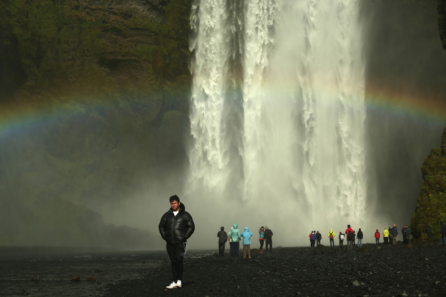 Nat Geo Expeditions - Iceland South Coast Adventure - Big waterfall in Iceland