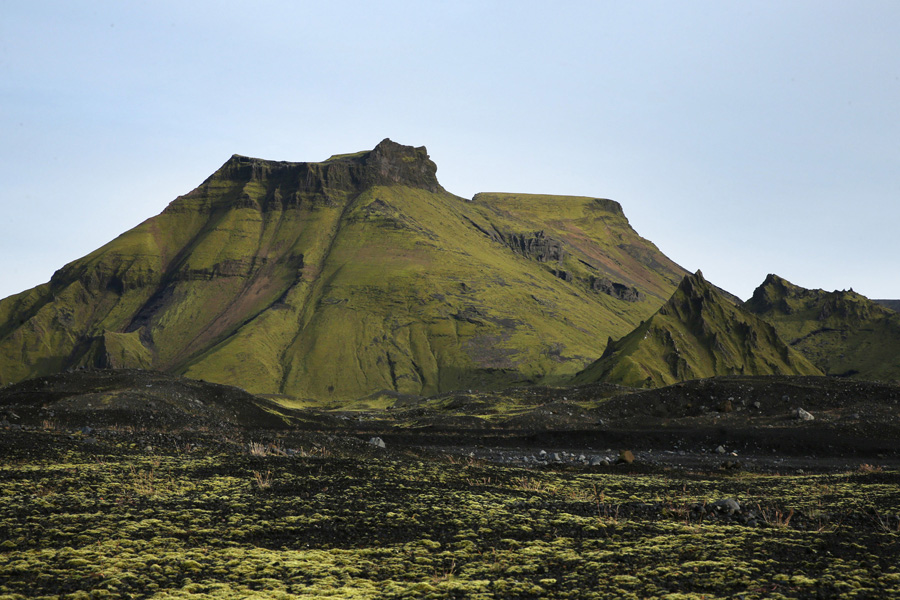 Nat Geo Expeditions - Iceland South Coast Adventure - Green mountains