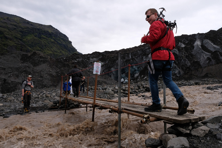Nat Geo Expeditions - Iceland South Coast Adventure - Crossing wild waters