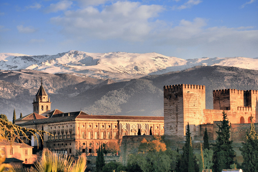 Spain and Portugal History Traditions and Gastronomy - Alhamabra of Granada, Spain