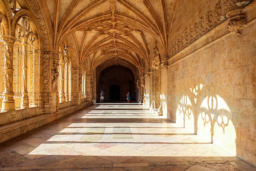 Spain and Portugal History Traditions and Gastronomy - Cloister