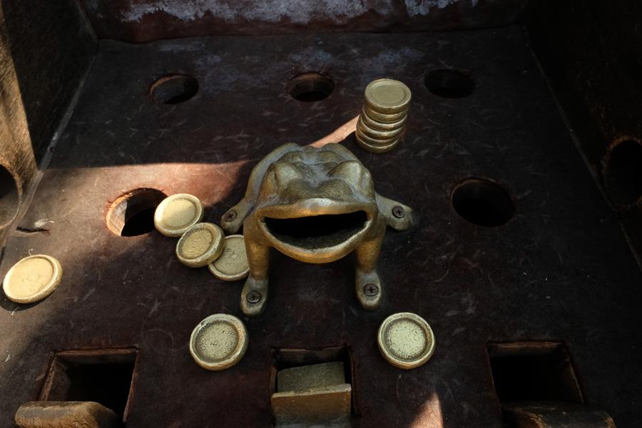 Splendors of the Yucatan - Metal frog