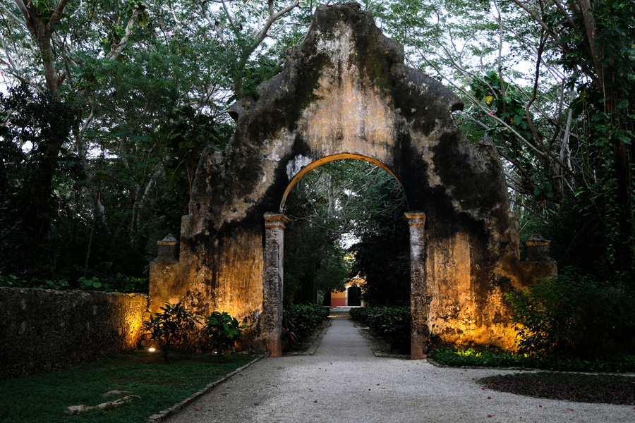 The Yucatan Peninsula land of the Maya spectacular hotel entrance