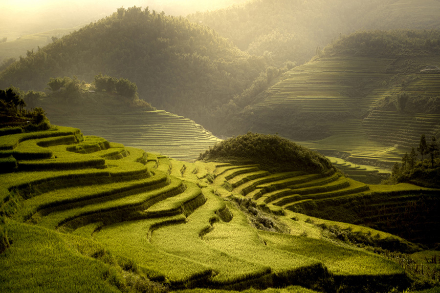 Wonders of Indochina - Green valleys