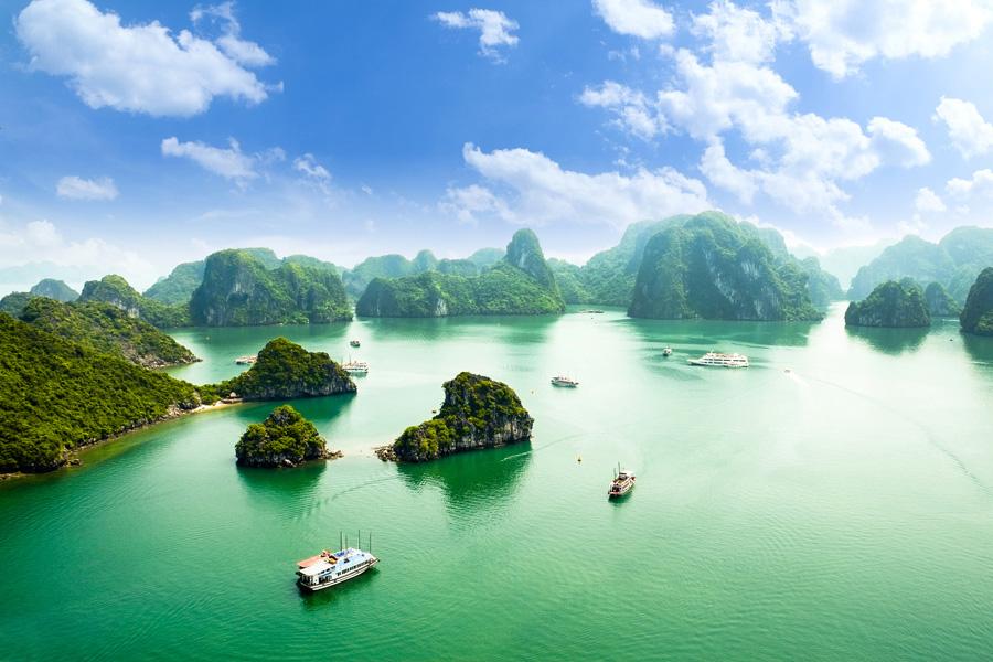 Wonders of Indochina - Ha-Long bay
