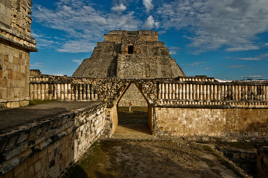 where we have gone Uxmal, Mexico
