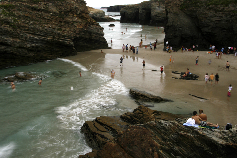 where we have gone cathedrals beach in north Spain
