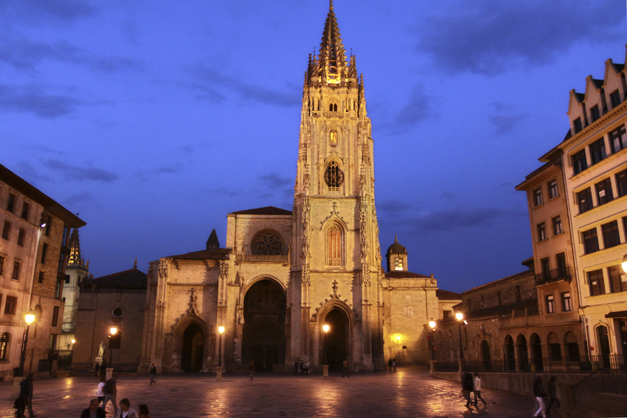 where we have gone Oviedo cathedral, Spain