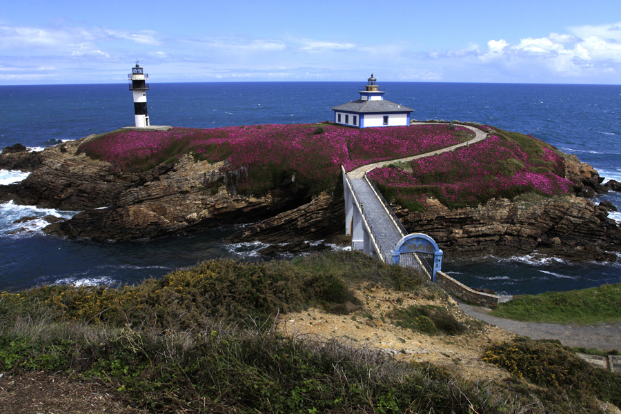 where we have gone lighthouse in north Spain