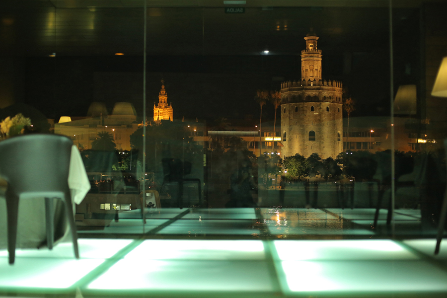 where we have gone Seville at night