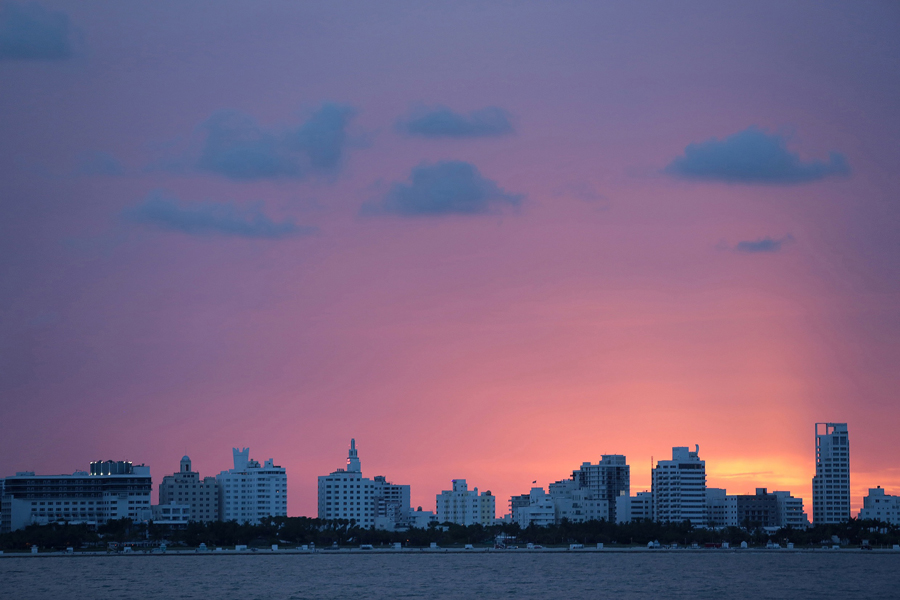 where we have gone Miami sunset
