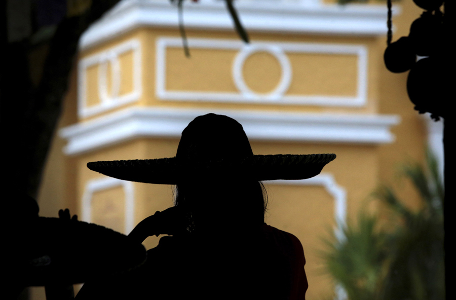 where we have gone woman hat silhouette