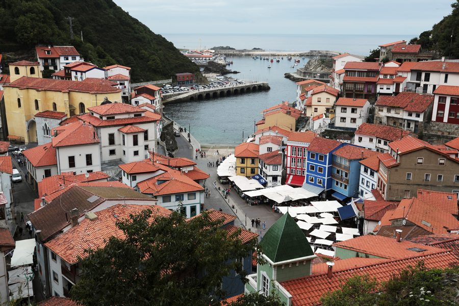 where we have gone Spain coast village Lastres
