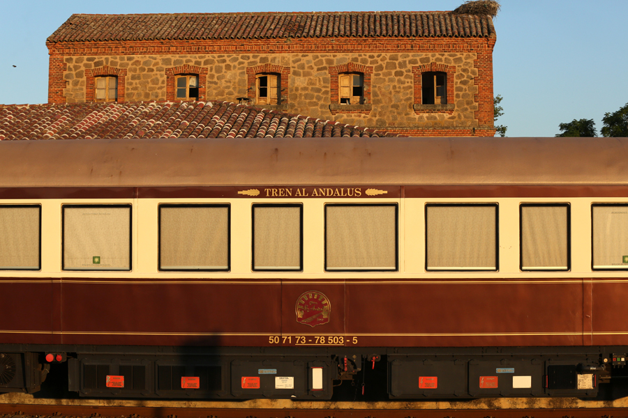 where we have gone Spain classic train Al Andalus